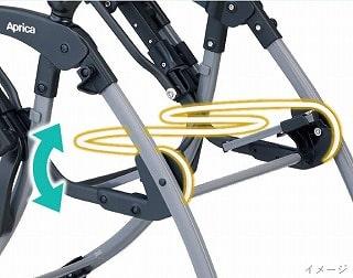 ラクーナクッションの座面構造