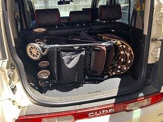 小型自動車のトランクにも無理なく収まります